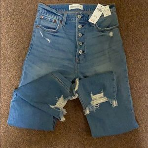 A&F jeans NWT